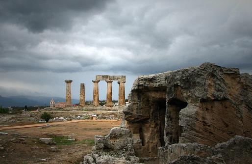 Ruínas de Corinto