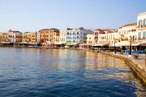 Prédio a Beira-mar na Ilha Creta