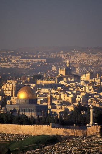 Visão de Jerusalém pelo Monte Scopus