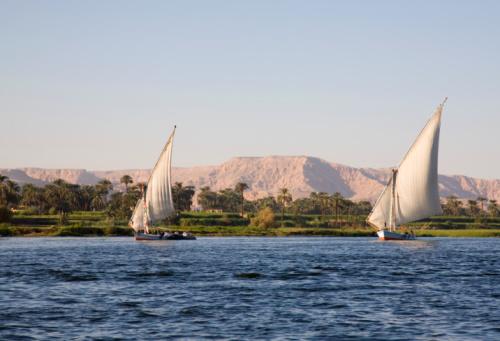 Margens do Rio Nilo