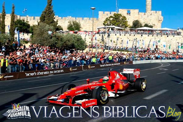 Corrida da Ferrari em Jerusalem