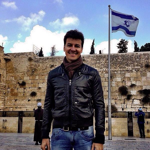 Rodrigo Faro visita Israel