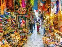 Mercado Árabe - Jerusalém - Israel