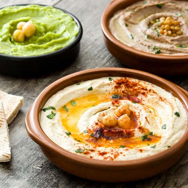 Homus comida típica de Israel